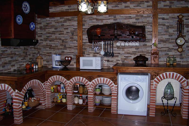 Arcos de ladrillos rusticos cheap cocinas rusticas de - Arcos de ladrillo rustico ...